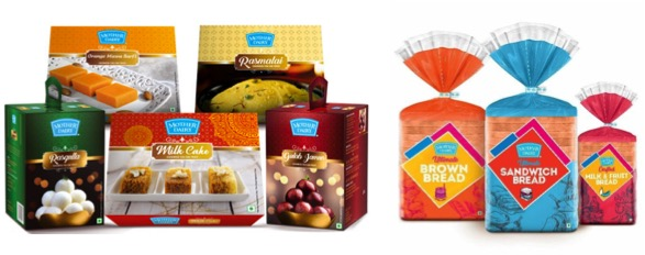 Mother dairy launches sweets and bread